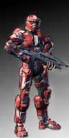 Spartan 110's armor change by Zombie-Spartan