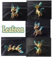 Weekly Sculpture: Leafeon