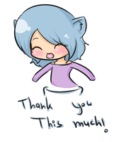 : Me : Thanks by GimmeHug