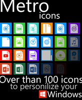Metro File Type Icons by fabianopcampos