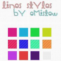 Lines Styles by EmiStew