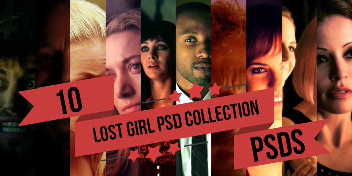 Lost Girl PSD Collection by ecnemsia