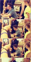 Chris Colfer Book Signing by Before-I-Sleep