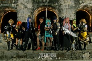 Vocaloids in Steampunk Nation by maki-chama
