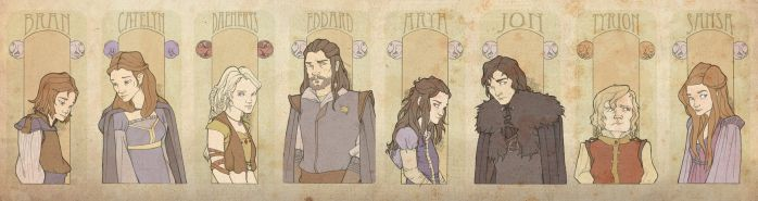 Game of Thrones PoVs by mustamirri