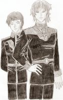 Lohengramm and Kirchiest by KaollaSu1