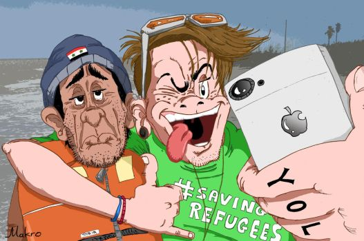 help the refugees! by grmakro87