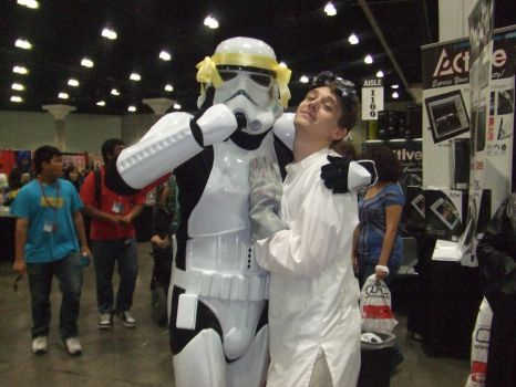 Dr.Horrible x Stormtrooper o.O by Foxykio