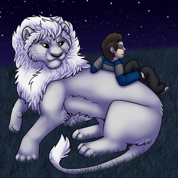 [AF] A Lion and His Boy by HiroGoldstone
