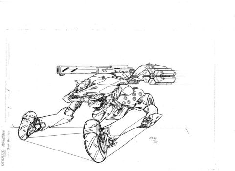 Chariot Mech Tank by mikecharles
