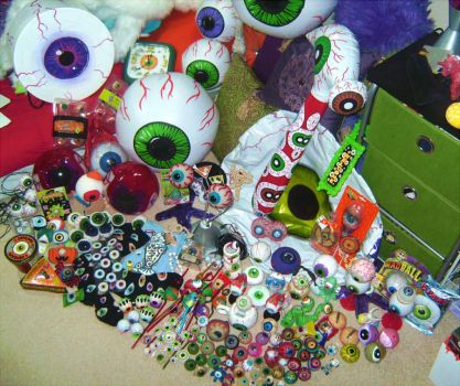 My Eyeball Collection by Penanggalan