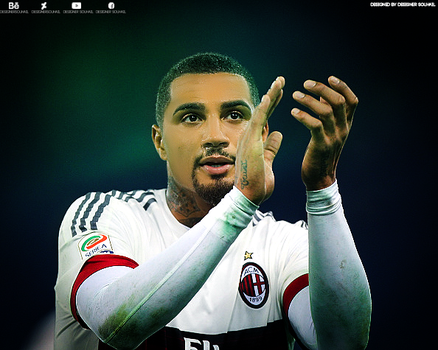 Retouching - Kevin Prince Boateng by DesignerSouhail