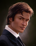 Damon Salvatore by daPatches