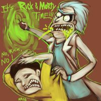 Rick-and-morty-time by Obman-Veschestv