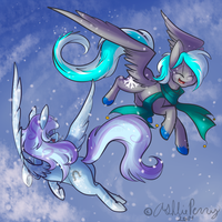 Flurry Flight Kyuflake Contest by BlueKazenate