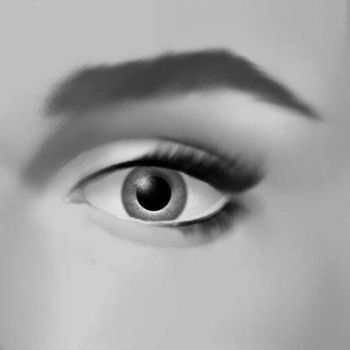 Eye study by arsyiza