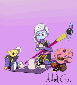 The gang is all here... by Mel-The-4th