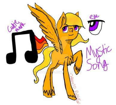 MLP OC Reference Sheet - Mystic Song by Ontario321