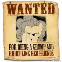 Equestria's Most Wanted: Discorded Pinkie Pie by snakeman1992