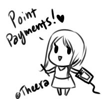 Point Payments by Felune-Bun