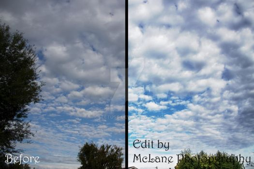 Cool Sky Before/After by cleetuss