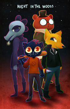 Night in the Woods by Polarstare