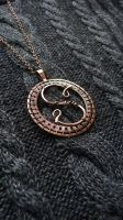 Personalized necklace lettera S by UrsulaJewelry