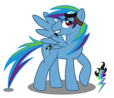 Rainbow Dash's Parents - Lightning Blitz by LugiaAngel
