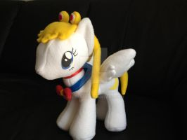 Custom Sailor Moon Pony g4 MLP by Aleeart7