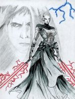 Asajj vs Anakin by star-wars-fan-club