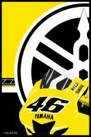 Valentino Rossi - YZR-M1 by atot806