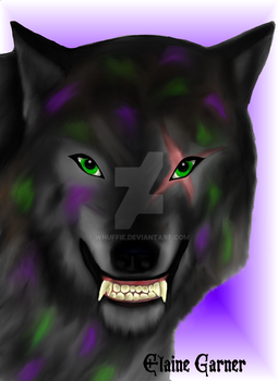 Werewolf in Lupus Character by whuffie