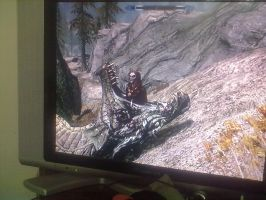 Who doesn't mess around in Skyrim. by EloiseS16