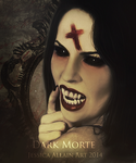 Dark-Morte by EnchantedWhispersArt