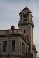 town hall clock by ZarakiMew
