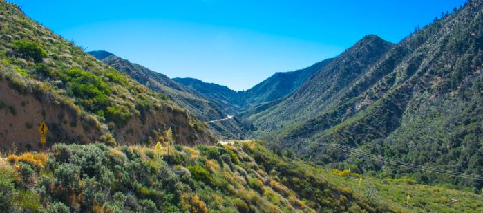 Angeles National Forest- Mountain Landscape by GabeBr