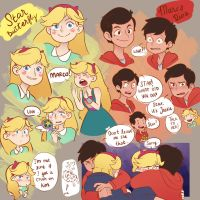 Marco and Star Sketching by Potaroe