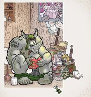 Rocksteady's quiet place by The-nostalgia-runs