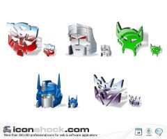 Transformers Vista icons by Iconshock