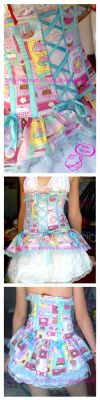 Cupcake Corset by love-on-a-stick