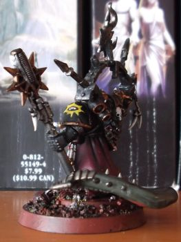 Dark apostle of the Black Legion by germanvisitor