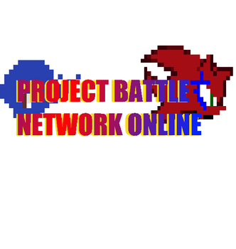 Project Battle Network Online logo by TheRedThunderX