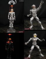 Custom Marvel Legends Ultron with base by Jin-Saotome