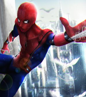 Spider man by IndyMBras