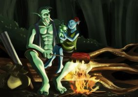 Campfire Stories by yapi