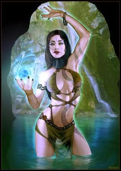 :: naga princess by randis