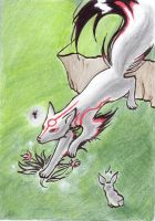 Run, Amaterasu by ASakuraZaki