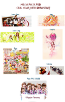 [ MEGA PACK PSD ] ONE YEAR WITH DIVIANTART by rankagome52