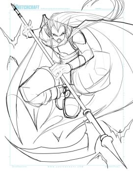 Commish 161 WIP 02 by RobDuenas