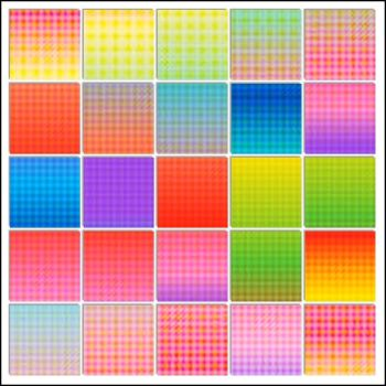 RBF 11.14  Colorful Grids 1 by rosebfischer